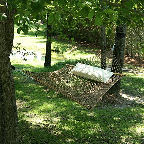 Pawley's Island Original Collection Large DuraCord Rope Hammock, Antique Brown (Duracord Outdoor Rope Hammock)