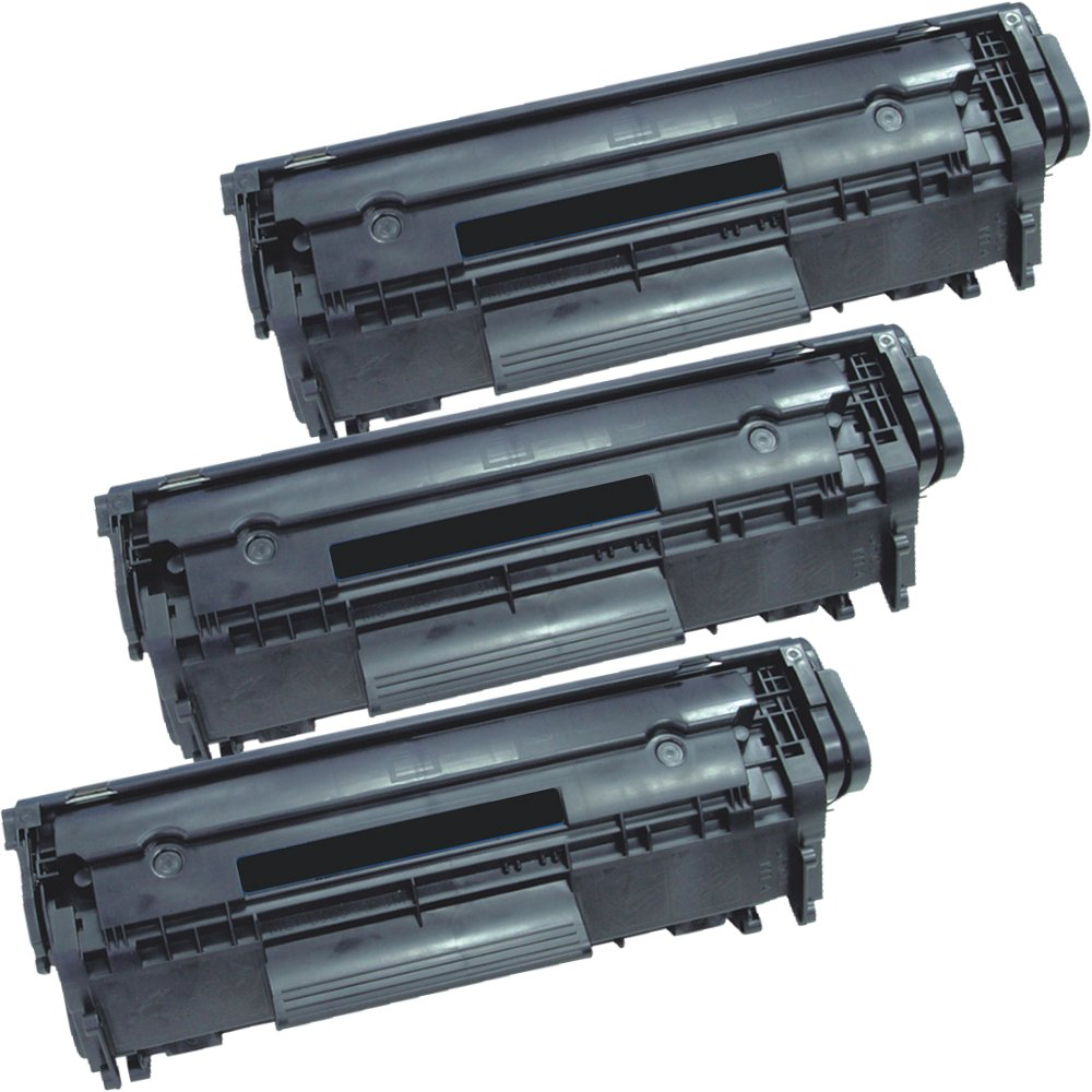 3 Inkfirst® Toner Cartridges 104 (0263B001AA) Compatible Remanufactured for Canon 104 FX9 FX10 Black FAXPHONE L100 L120 L90 imageCLASS MF4150 MF4270 MF4350D MF4370DN MF4690 D480 Ink First IF-C104-3PACK(A)