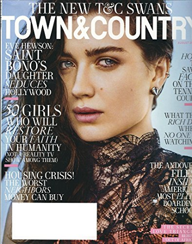Town & Country Magazine (August 2015) Eve Hewson Cover