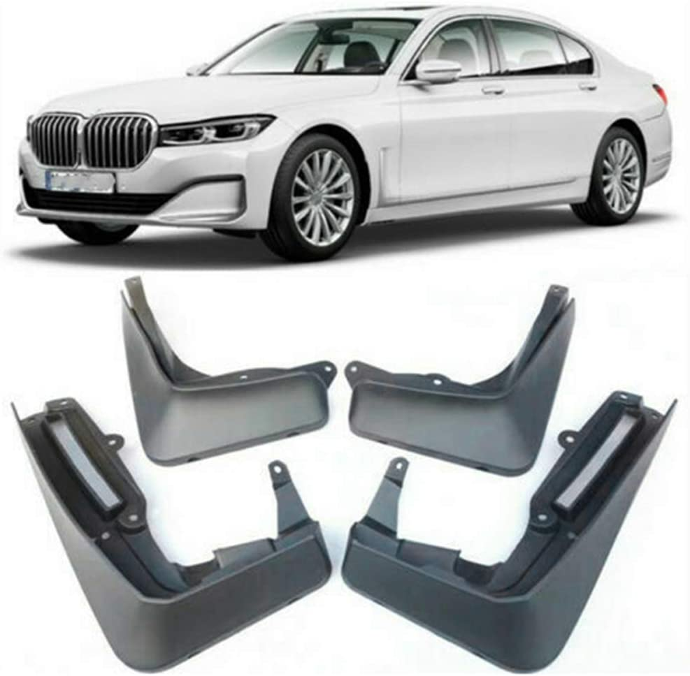 for BMW 7 Series G11 G12 2015 2016 2017 2018 2019 2020 Front Rear Splash Panel Guards Protective Fender Auto Styling Accessories NTUOO 4Pcs Car Mud Flaps Mudguards