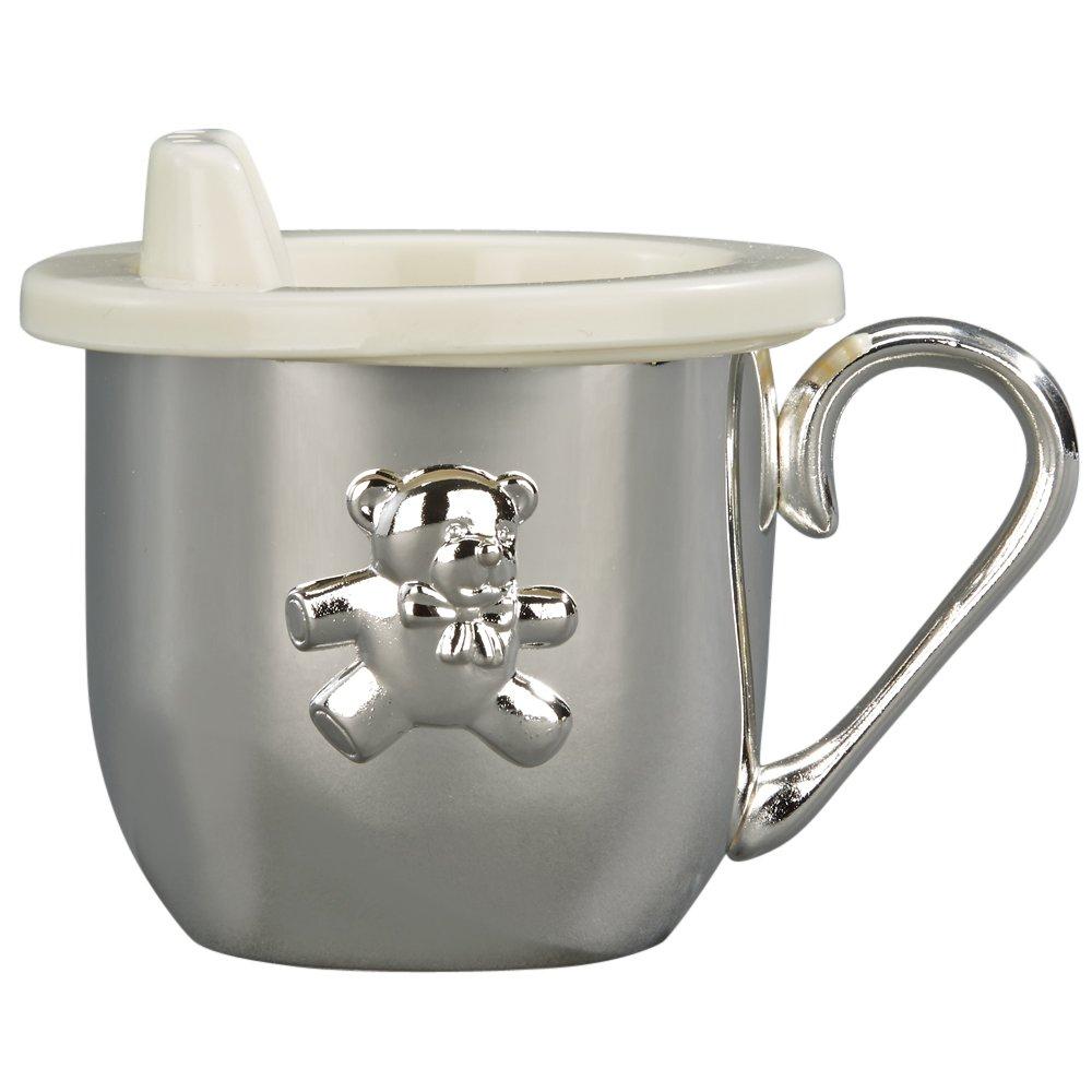 珍しい BABY CUP by WITH SIPPER LID - B000X24Z10 Gifts BABY CUP W/ SIPPER LID, SILVER PLATED by Creative Gifts B000X24Z10, 空間ハウスJI2:97bfc068 --- a0267596.xsph.ru