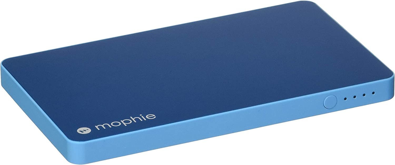 Mophie powerstation Mini - Universal External Battery for Smartphones (3,000mAh) - Blue, 3558_PWRSTION-MINI-3K-BLU