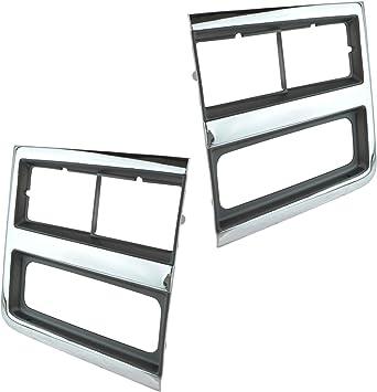 Car & Truck Headlights Headlight Door Set For 1989-91 Chevy Blazer ...