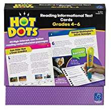 Educational Insights Hot Dots Reading Informational Text for Grades 4-6