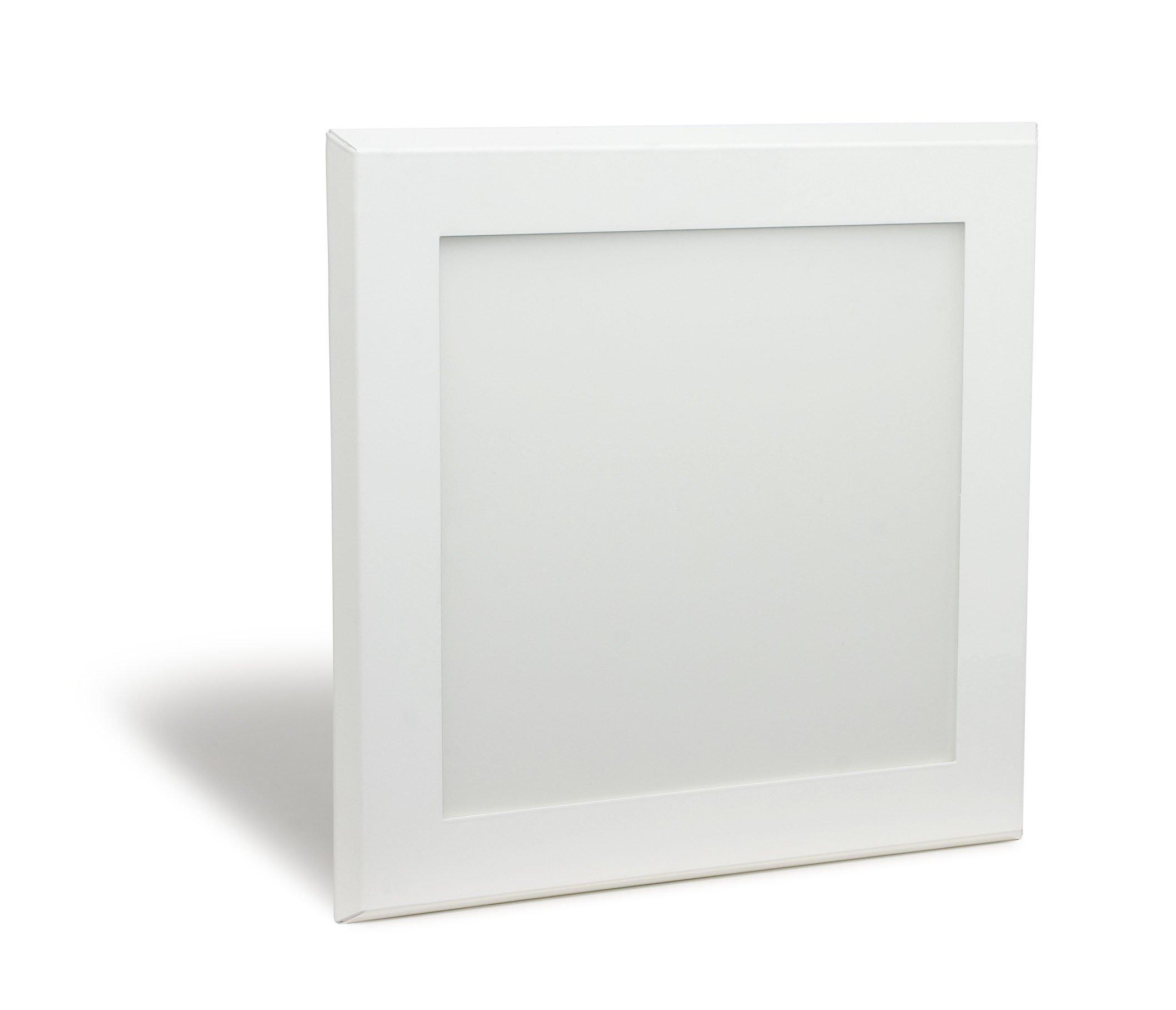 Pixi 1'x1' Ultra Slim Flatlight ™ Edge-lit LED Luminaire 3000K (soft white) 90-130V Dimmable Internal Driver