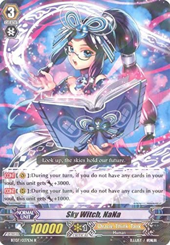 Cardfight!! Vanguard TCG - Sky Witch, NaNa (BT07/037EN) - Rampage of the Beast King by Cardfight!! Vanguard TCG: Amazon.es: Juguetes y juegos
