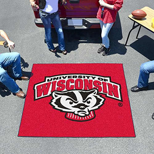 University of Wisconsin Tailgater Rug by Fanmats