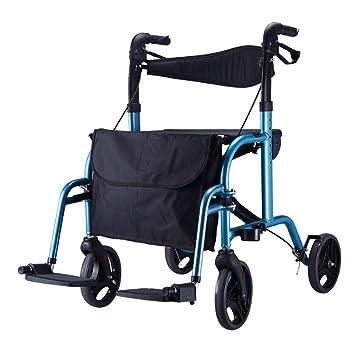 Sillas de ruedas autopropulsadas Andador de aluminio ...