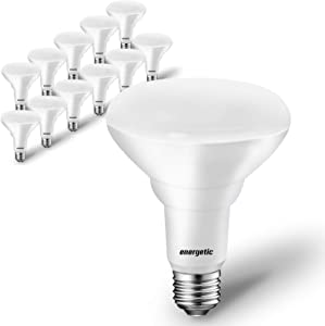 12-Pack BR30 Dimmable Indoor LED Flood Light Bulb, 11W=75W, 5000K Daylight, 900LM, Ceiling Light Bulb for Cans, CRI85+, UL Listed