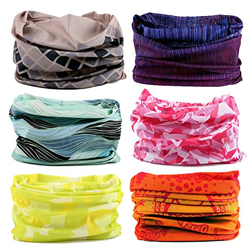 LOTUYACY Headwear Versatile Lightweight Sports & Casual Wide Headbands for Men and Women, Workout,Yoga Multi Function,Constructed with High Performance Moisture Wicking Microfiber