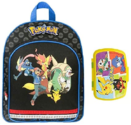 597a7ae5b7 Sac à Dos Pokemon - 30 cm - Boite à gouter Pokemon: Amazon.fr: Bagages