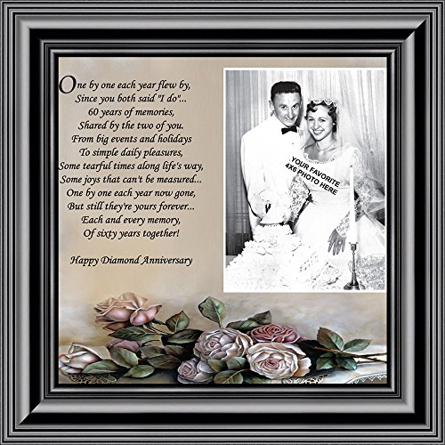 Personally Yours Diamond, 60th Anniversary Picture Frame, Diamond, 10x10 6782B