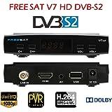 Vipwind FREESAT V7 1080P DVB-S2 TV Box Receiver Digital Video Broadcasting Receiver Set Top Box Support USB PVR EPG for HDTV