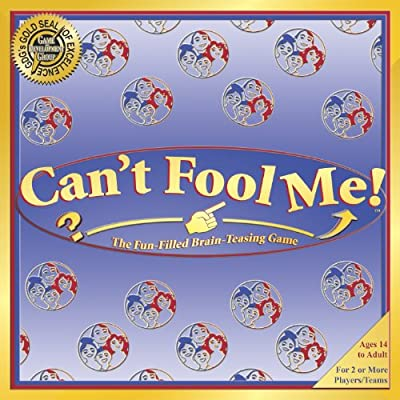 Can't Fool Me - Board Game for Families and Adults: Toys & Games