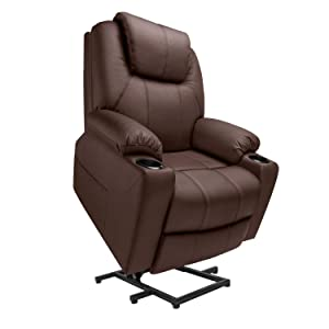 Furgle Power Lift Recliner Chair with Massage Heat and Vibration