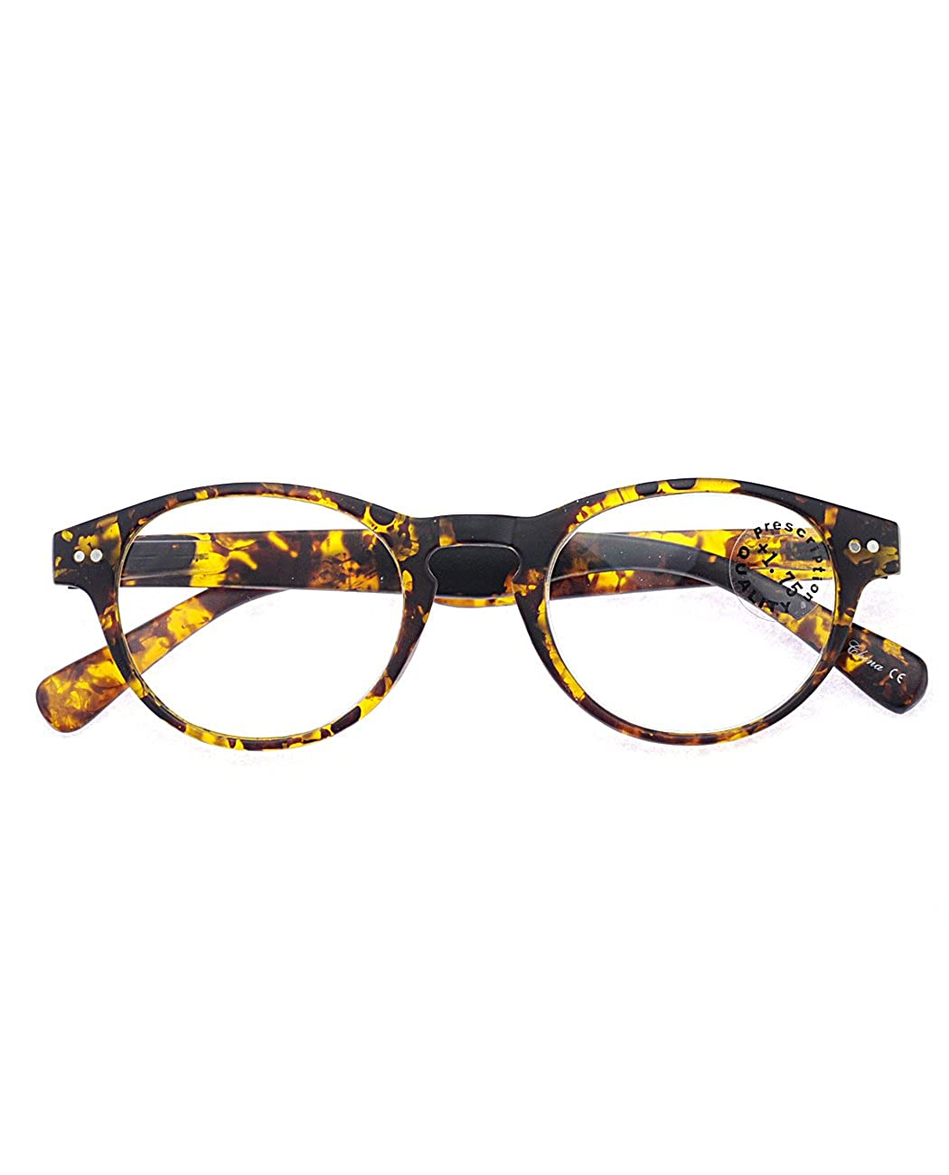 99c2b8d67624 Amazon.com  NYFASHION101 Unisex Casual Lightweight Modern Round Frame  Reading Glasses