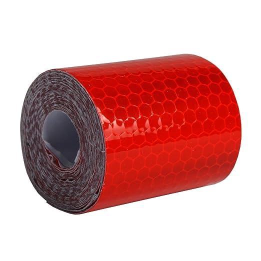 2 opinioni per Andux Nastro Adesivo Alta Visibilità Riflettente 5cm x 3m FGT-01 (rosso)