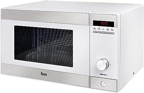 Teka MWE 230 G Microondas con grill, 1250 W, 23 litros, Otro, Blanco: Amazon.es: Hogar