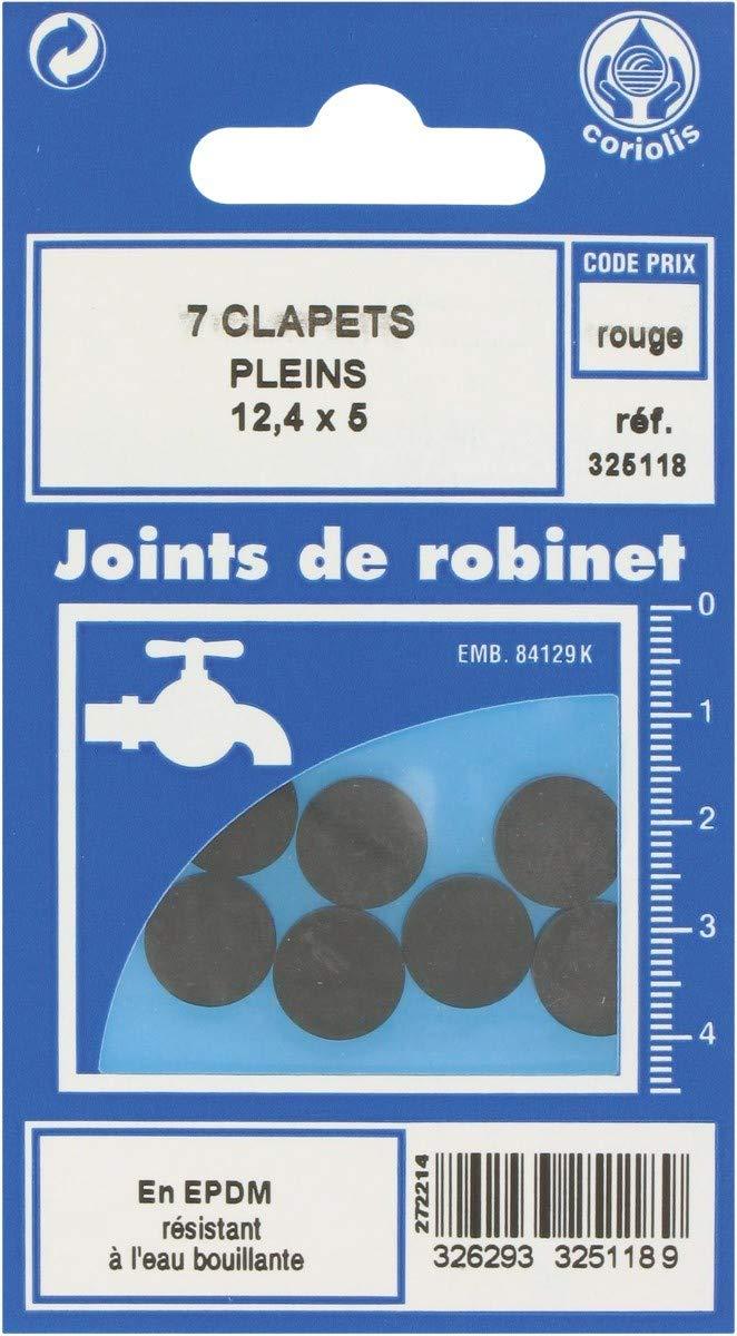 14 x 7 mm Lot de 6 Joint Clapet plein Robinet GRIPP