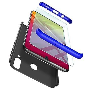 ivencase Funda Samsung Galaxy M30+ Cristal Templado, para Samsung ...