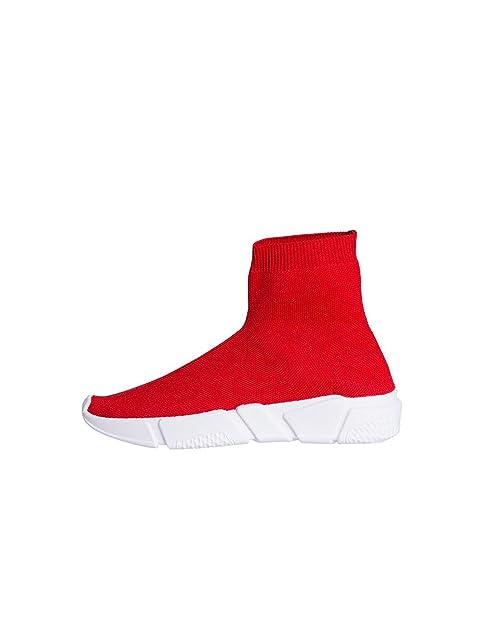 76f539b297f177 Studio Creazioni Sneakers da Donna CALZINO Janette: Amazon.it: Scarpe e  borse