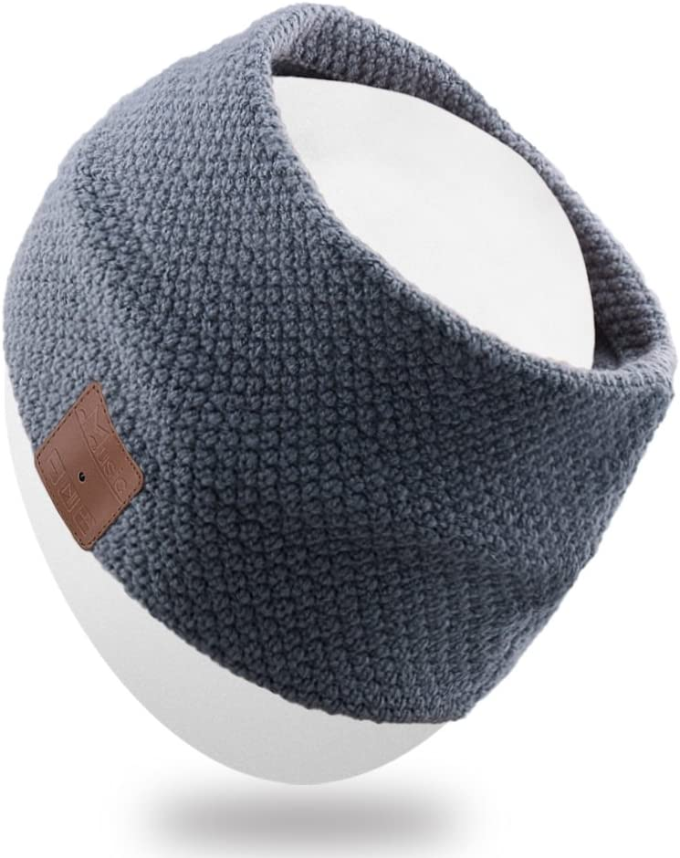 Rotibox Outdoor Bluetooth Headband Running Headband Sleepphone Speakerphone with Bluetooth Stereo Speaker Headphones,Microphone,Hands Free For Sports Running Gym Travel Compatible With iPhone,iPad,Samsung,Smartphones