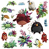 17 ANGRY BIRDS MOVIE WALL DECALS Kids Bedroom Stickers Decor for Toy Game