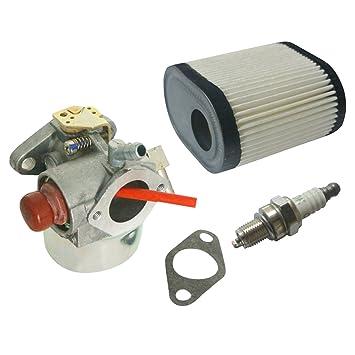 Nueva 640350 con filtro de aire y bujía para carburador & Juntas para cortacésped Toro reciclador