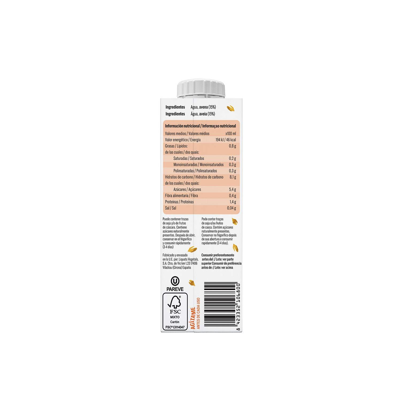 Yosoy - Bebida de Avena - Caja de 8 packs de 3x250ml