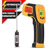 Infrared Thermometer, Digital IR Laser Thermometer Temperature Gun -26°F~1022°F (-32°C~550°C) Temperature Probe Cooking…