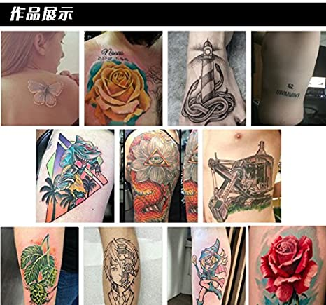 Amazon.com: 30ml/BAODELI bottle tattoo ink set permanent makeup art pigment 16PCS cosmetic tattoo paint for eyebrow eyeliner lip body: Beauty