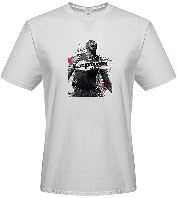 db2380690 Camisa de camiseta para hombre - Custom LeBron James camisetas ...