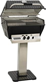 product image for Broilmaster P3-XF Premium Propane Gas Grill On Stainless Steel Patio Post