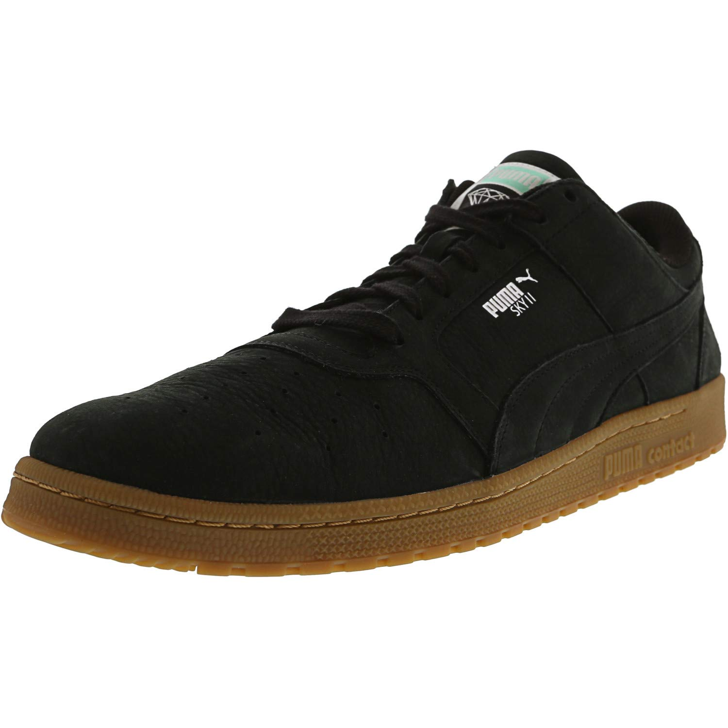 sports shoes 19c4c 44b83 Amazon.com | PUMA Men's Sky Ii Lo Diamond Ankle-High Suede ...