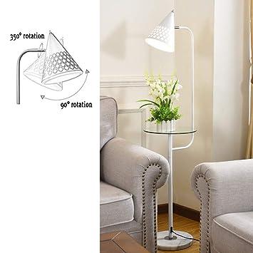 HLF- Lámpara de pie Simple, Mesa de Centro del sofá del ...