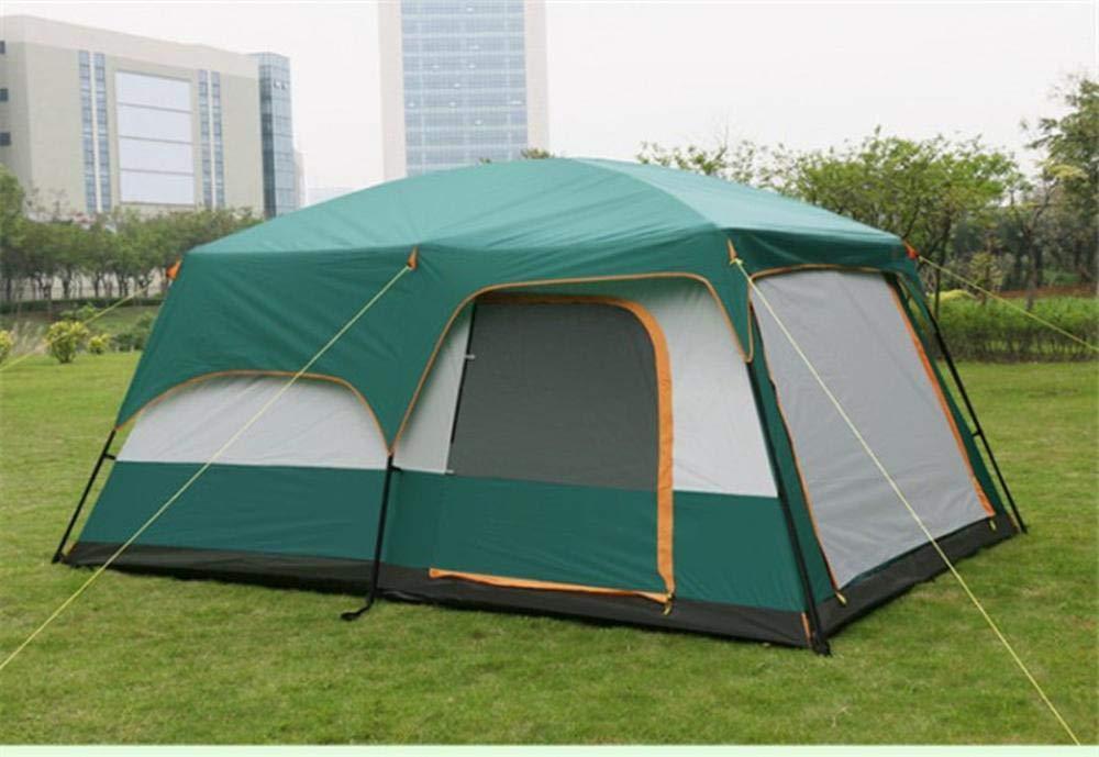 Lxj Outdoor-Zelt im Freien, Einer Halle Zelt 8  Herrenchen,  Herrenchen Mehrpersonen Zelt Camping Anti-Regen Großes Zelt 435  310  h210cm