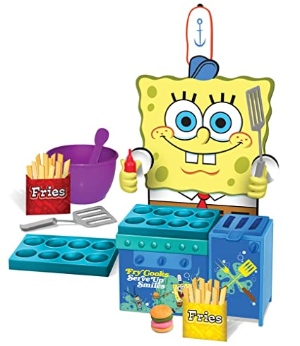 Amazoncom Cra Z Art Sponge Bob Krabby Patty Maker Toys Games