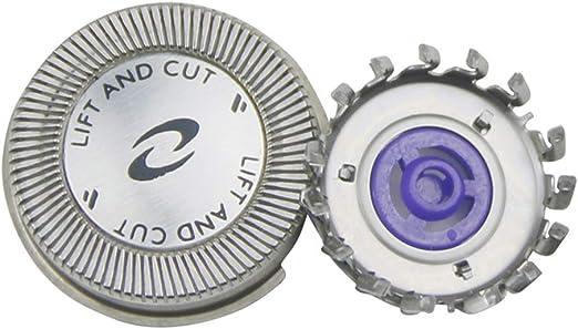 Oral-Q - Set de 3 cabezales de afeitado de repuesto para Philips ...
