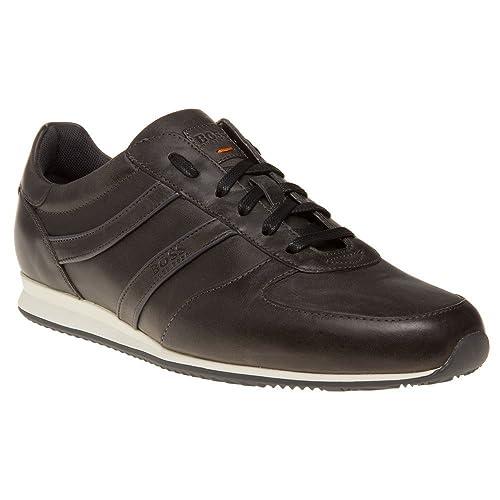 Mens Adrenal_Runn_pp1 10201494 01 Low-Top Sneakers, Brown Boss Orange by Hugo Boss