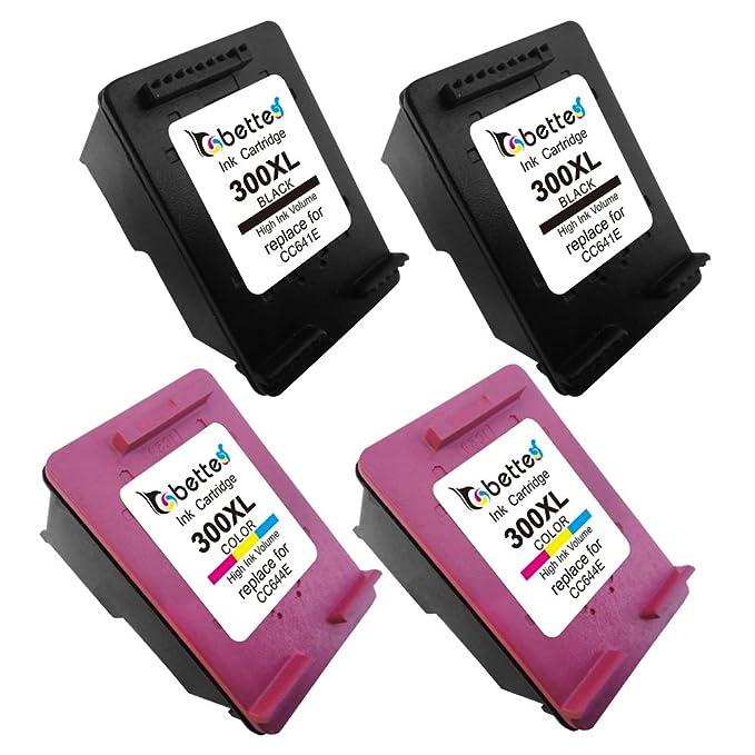 Bette - Cartucho de tinta para recargar cc641e HP 300 X L CC644E ...