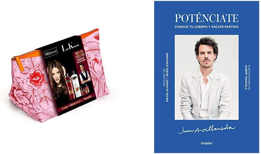 Tresemme pack neceser Liso Keratina con libro poténciate de Juan ...
