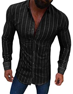 Zimaes-Men Slim Casual Pullover Basic Style Performance Henley Shirt