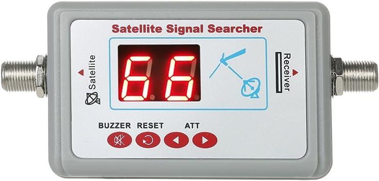 Roeam HD Satellite Finder 950-2150 MHz Mini Satellite Signal Meter Finder with LCD Display