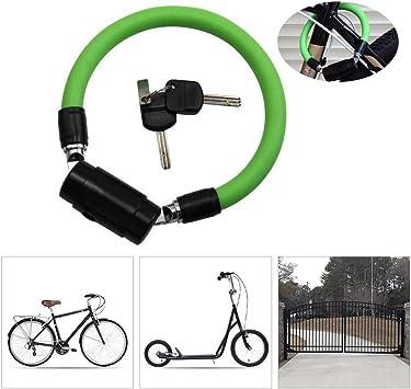 KuaiKeSport Candado Bici Alta Seguridad,Resistente al Desgaste ...