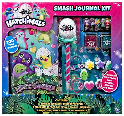 Hatchimals Smash Journal Stamps Stickers product image