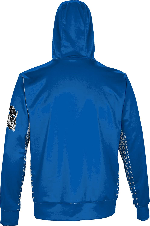 Hampton University Mens Pullover Hoodie School Spirit Sweatshirt Geo