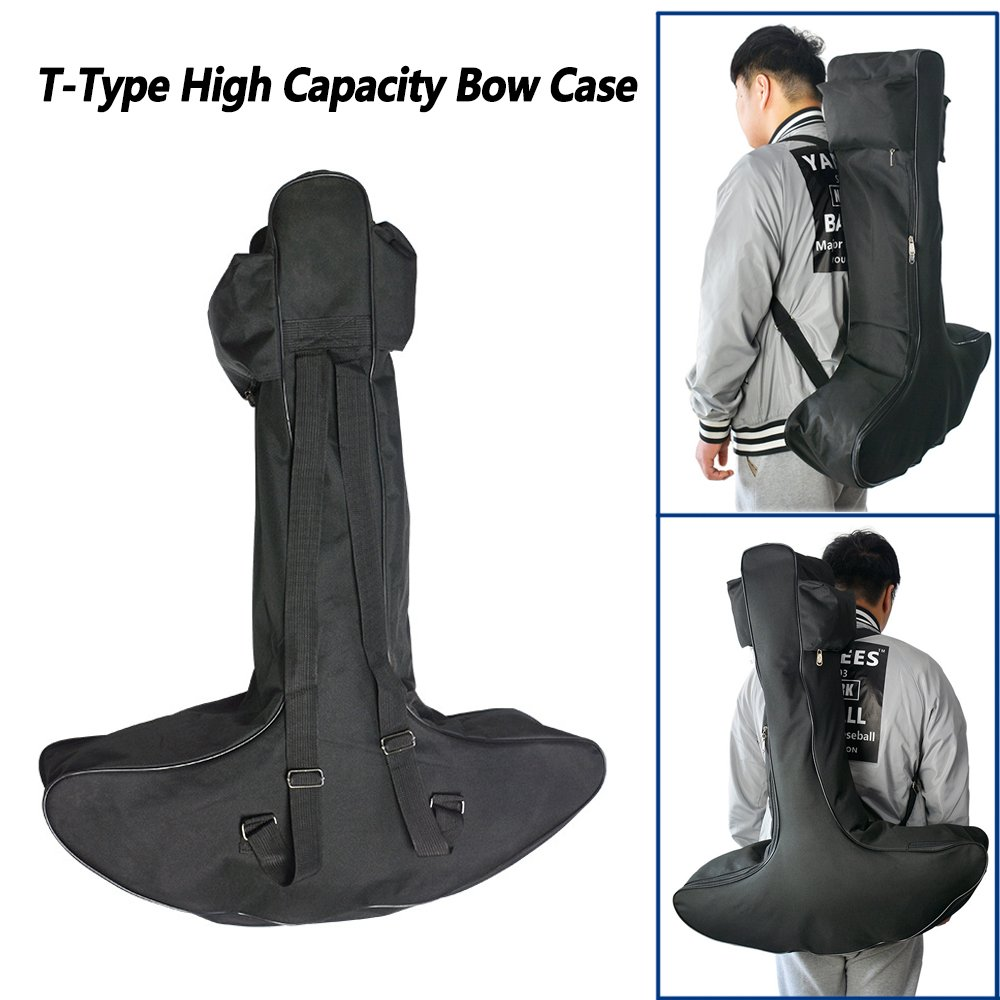 WEREWOLVES Outdoor Lightweight Canvas T-Type Bow Case Archery Hunting Crossbow Bag