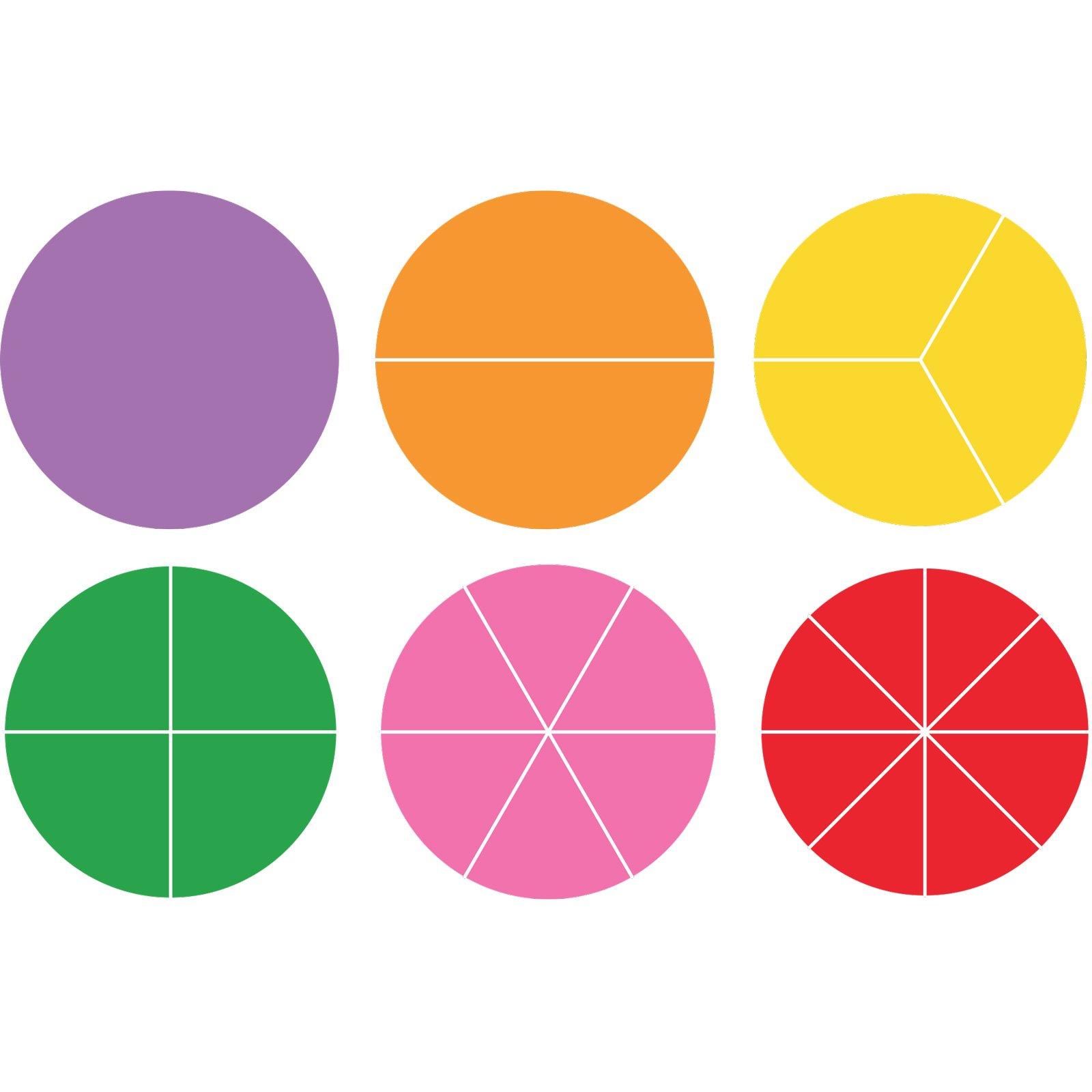 Ellison Fraction Circles Sure Cut Die Set (Set of 6), Large