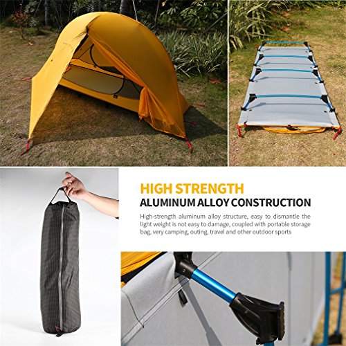 iUcar Portable Camping Tent Cot Off Ground Tent with Carring Bag by iUcar (Image #3)