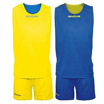Givova, kit double, amarillo/azul, 5XL